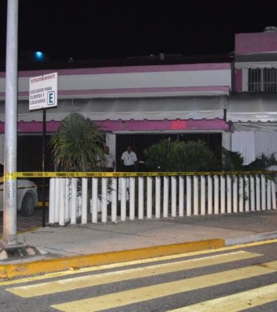 Hombre asesinado en Zona Hotelera de Cancún era empleado de discoteca 'Coco Bongo'