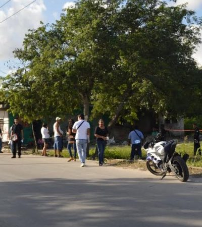 Asesinan a un hombre en una parcela de Rancho Viejo; detienen como presunto responsable a la 'Culebra'