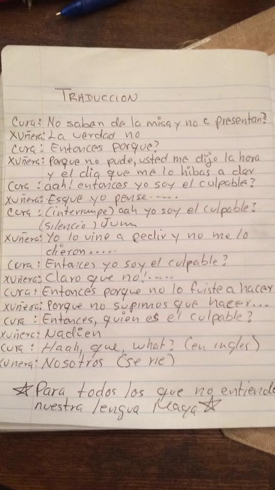 Causa indignación sacerdote que humilla a quinceañera en plena misa en municipio yucateco de Tahdziú