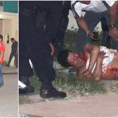 INTENTO DE EJECUCIÓN EN VILLAS DEL MAR: A quemarropa, disparan contra un 'bartender' en la Región 248 de Cancún; está hospitalizado