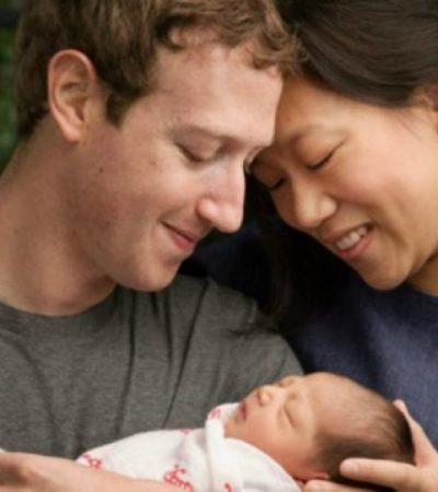 Por nacimiento de su hija, Mark Zuckerberg anuncia la donación del 99% de su fortuna en acciones de Facebook