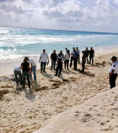 Viaja turista desde Oklahoma para morir ahogado en playa Gaviota de Cancún
