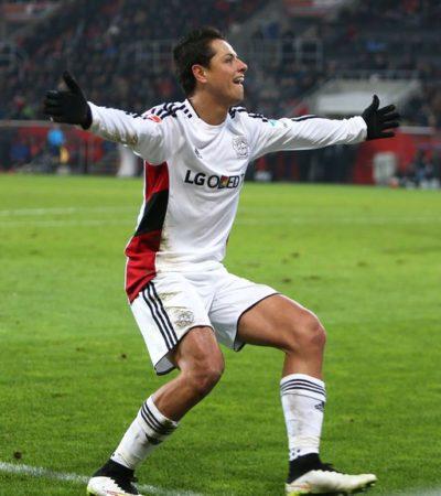 CIERRA 'CHICHARITO' EL AÑO CON OTRO GOL: El mexicano le da la victoria al Bayer Leverkusen; suma 17 goles en 14 partidos