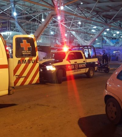 ASALTAN ADO EN CANCÚN: En plena temporada decembrina, hombres armados irrumpen en céntrica terminal de autobuses; recuperan botín