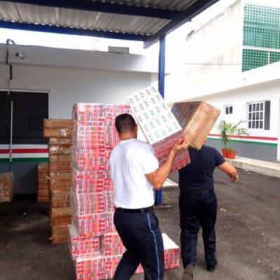 ATAJAN CONTRABANDO: Abandonan cargamento de 4.6 millones de cigarros proveniente de Belice