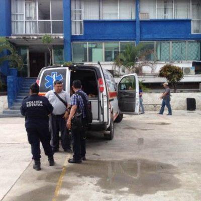 Dos policías estatales heridos por presunta negligencia de compañero: se le disparó el arma dos veces