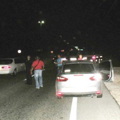 INSEGURIDAD EN SOLIDARIDAD: A punta de pistola, roban camioneta en Puerto Aventuras