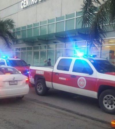 SE LE SALEN DOS 'DIENTES': Falla escalera eléctrica de la Gran Plaza en Cancún; no hubo heridos