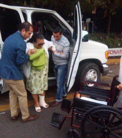 RETORNAN ABUELITOS DEL DF: Nada será igual para ancianitos infectados durante operaciones de la vista por negligencia médica