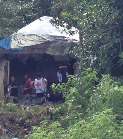 Durante la Navidad, matan a machetazos a un hombre en la colonia Tres Reyes de Cancún