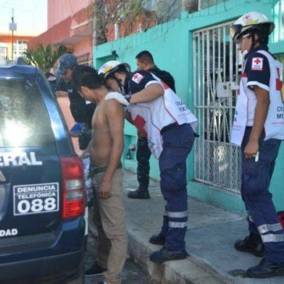 INSEGURIDAD EN CANCÚN: Apuñalan a plena luz del día a un hombre durante asalto en la SM 66