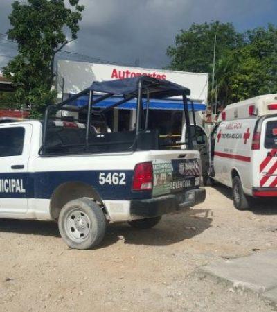 Recolectaba basura cuando un indigente fue atropellado por un trailero en colonia Tres Reyes