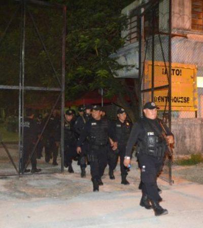 REVISIÓN SORPRESA EN LA CÁRCEL: Realizan operativo en el penal de Cancún