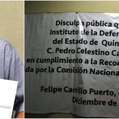 NO TAN RÁPIDO, PERO CAE UN 'HABLADOR': Ofrece funcionario Lino Magos disculpa pública a Pedro Canché por recomendación de la CNDH