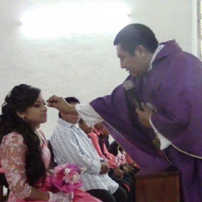 Se disculpa Arquidiócesis de Yucatán y mandan a retiro a sacerdote que humilló a quinceañera en plena misa