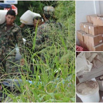 DETALLAN DECOMISO EN NARCOBODEGA: Almacenaba el CJNG en Bonfil gran cantidad de droga sintética y productos para su elaboración