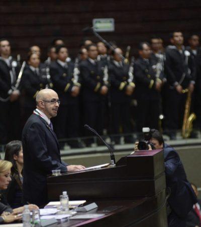 """""""NO HAY AMOR A LA PATRIA"""": Fustiga Rodolfo Neri Vela desde el Congreso la corrupción de políticos y empresarios"""