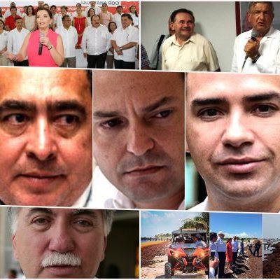 LOS PERSONAJES DEL 2015: Termina un año marcado por la carrera sucesoria, los asesinatos de mujeres, los presos políticos y el sargazo en QR