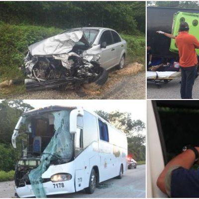 EL RECUENTO DEL 'TRAMO DE LA MUERTE': 13 fallecidos y 99 heridos, saldo de 32 accidentes en peligrosa carretera de FCP durante el 2015