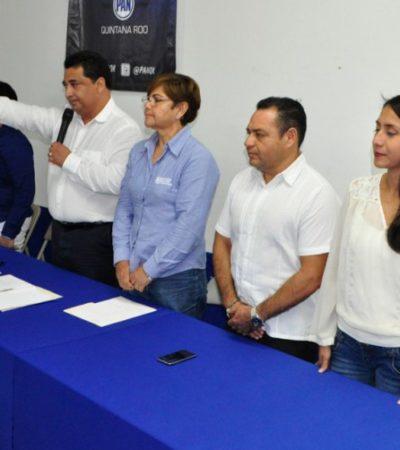 EDUARDO, OTRA VEZ AL FRENTE DEL PAN: Rinde protesta la nueva directiva del albiazul en Quintana Roo