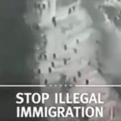 LA CAMPAÑA DEL MIEDO: Usa Trump imágenes de Marruecos para sembrar temor en la frontera entre México y EU