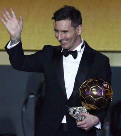 ALZA MESSI SU QUINTO BALÓN DE ORO: El argentino se impone con solvencia a Cristiano Ronaldo y Neymar