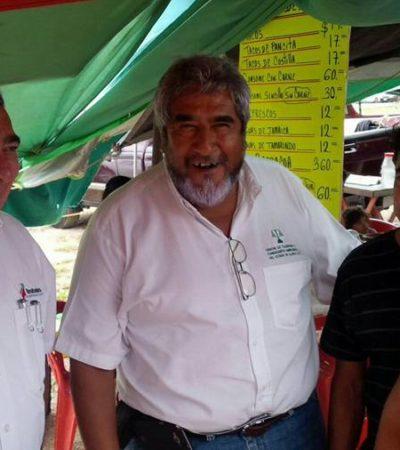 MÁS VALE PASO QUE DURE…: Recorre Mendicuti tianguis de Cancún y visita a ejidatarios de Felipe Carrillo Puerto