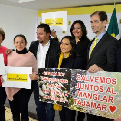 DENUNCIAS PENALES POR ECOCIDIO EN  TAJAMAR: Señala PRD a Borge, Paul Carrillo, Semarnat, Profepa y Fonatur por daño ecológico al manglar