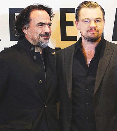 """""""EL RENACIDO YA GANÓ"""": Defienden Iñárritu y DiCaprio en México el triunfo de su película más allá de los premios"""