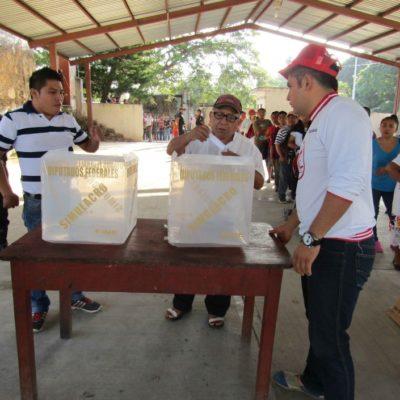 ELECCIÓN EN VALLADOLID: Sin incidentes, eligen a Diego Balam Cupul comisario municipal en Dzitnup