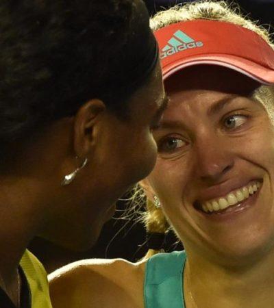 Sorprende Angelique Kerber a Serena Williams y se corona en la final del Abierto de Australia