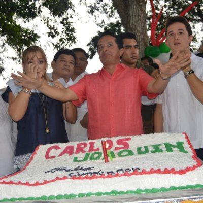 Candidato del PRI debe tener madurez y experiencia, dice Carlos Joaquín