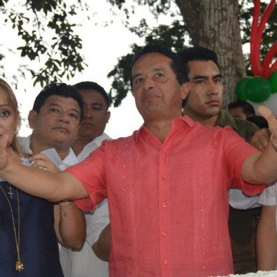 """""""NO HE SIDO INVITADO…"""": Admite Carlos Joaquín que el PRI aún no lo llama para firmar carta de unidad entre aspirantes; se reúne con 'El Bronco'"""