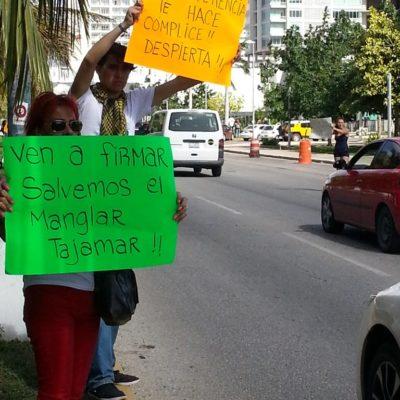 Se pronuncia 'ombudsman' de QR porque se garanticen derechos humanos de manifestantes en el Malecón Tajamar