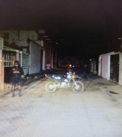Hallan a otro joven asesinado en la vía pública en la SM 70 de Cancún
