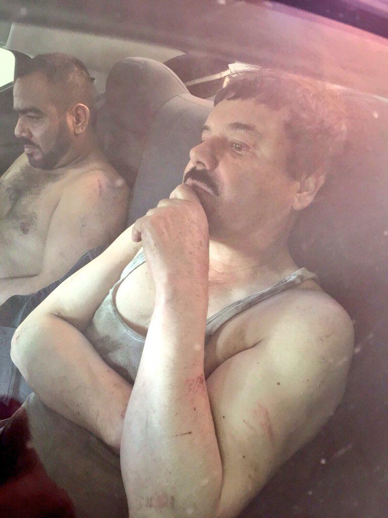 RECAPTURAN A 'EL CHAPO': Tras un enfrentamiento en Los Mochis con la Marina, cae por tercera vez el capo Joaquín Guzmán Loera, confirma EPN