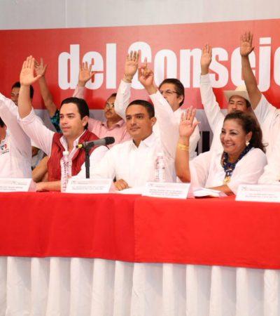 Ratifica PRI método para la elección de candidatos en Quintana Roo