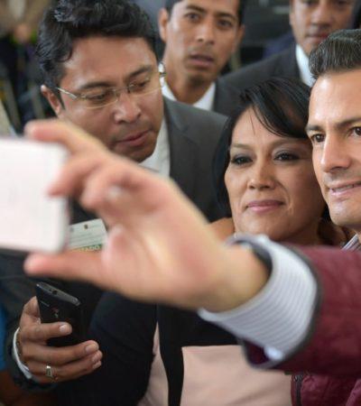 ¿EL QUE CALLA, OTORGA?: Tras incisivo editorial del NYT sobre su opacidad, opta Peña por guardar silencio