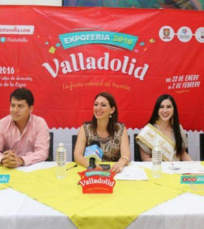 Presentan en Cancún el programa de la feria de Valladolid del 22 de enero al 2 de febrero
