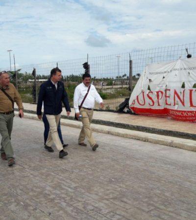 """VERIFICA PROFEPA DEVASTACIÓN DE MANGLAR EN CANCÚN: Recorren el Malecón Tajamar para comprobar """"existencia de impactos adversos"""""""