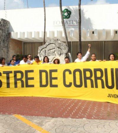 """'CLAUSURAN' FONATUR POR DEVASTAR TAJAMAR: Piden diputados del PRD cuentas por talar manglar en Cancún; Borge, """"corrupto y corruptor"""", dicen"""