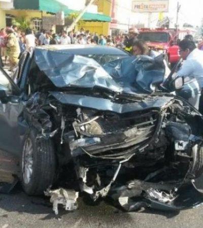 Con fianza de $1.4 millones, sale libre perito de la PGR que causó accidente mortal en la Portillo de Cancún