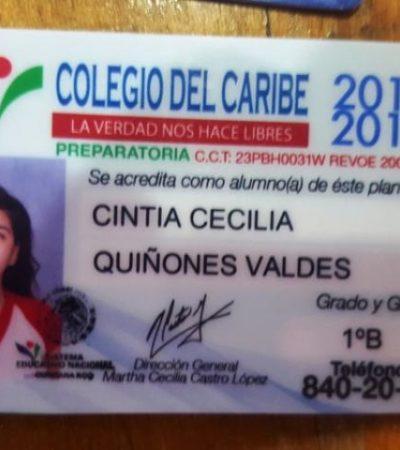 SALIÓ A LA TIENDA Y YA NO REGRESÓ: Reportan desaparición de joven estudiante en Cancún (ya apareció)