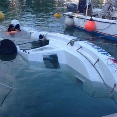 Se hunde embarcación turística atracada en la Marina Fonatur de Cozumel