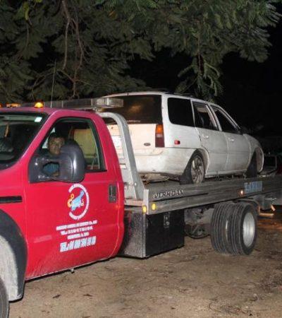 Tras peliculesca persecución, escapan ladrones de borregos en Felipe Carrillo Puerto