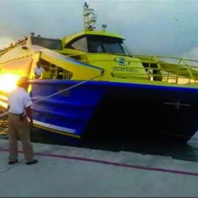BARCO DE ULTRAMAR ¡SIN CAPITÁN!: A la deriva y con un cabo asegurado quedó embarcación cuando zarpaba dejando al timonel en tierra