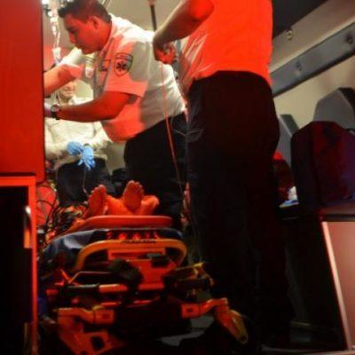 FATAL ACCIDENTE EN CARRETERA: Muere hombre prensado en la vía Cancún-Mérida; rescatan a mujer herida