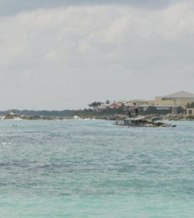Desmantelan patrulla de la Marina hundida frente a Puerto Aventuras