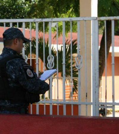 """""""NO ERA LA MANERA"""": Con armas largas, irrumpen judiciales en jardín de niños de Cancún para detener a maestra"""