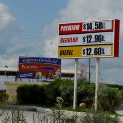 SE DESINFLA 'PARAÍSO' BELICEÑO: Por alza del dólar, sube la gasolina en la Zona Libre y ya está más cara que en Quintana Roo